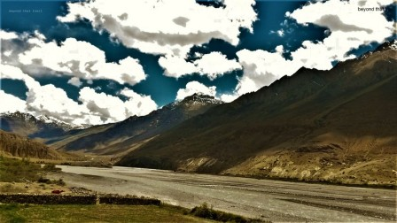 on the way to Kaza, 20 odd kms away. the clouds have always been a busy bunch here, like an unending army marching across the sky. great spot for time lapse shots but it had been nearly two weeks on the road, so we pushed on to Kaza without stopping